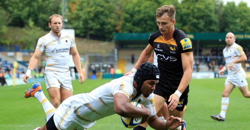 JOSH DRAUNINIU WORCESTER WARRIORS
