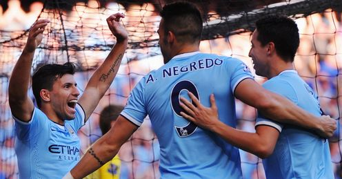 Man City: Merson's favourites for the title