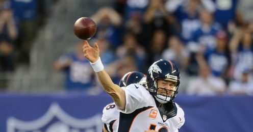 Peyton Manning: leading Denver to New York?