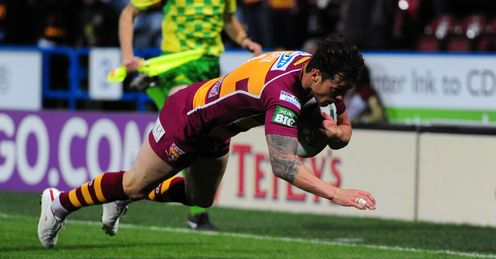 SCOTT GRIX HUDDERSFIELD GIANTS SUPER LEAGUE