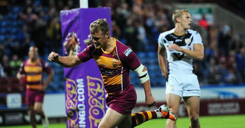 Luke Robinson: Helped himself to four tries in the first-half