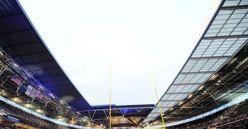 Wembley Stadium: Plays host to the Vikings v Steelers on Sunday