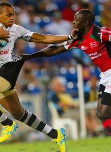 Benito Masilevu Fiji v Kenya Gold Coast Sevens 2013