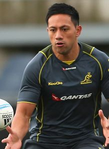 Christian Lealiifano Wallabies training 2013
