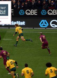 England v Australia dove comp 3