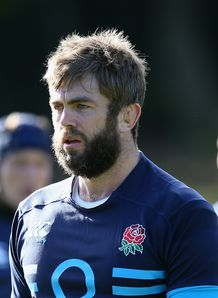 Geoff Parling England Training