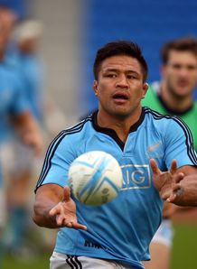 Keven Mealamu ABs training 2013