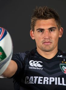 Leicester Tigers captain Toby Flood Heineken Cup launch 2013