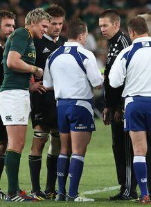 Nigel Owens SA v NZ RC sub confusion 2013