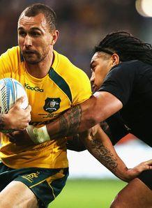 Quade Cooper New Zealand v Australia Dunedin 2013