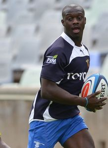 Raymond Rhule in training