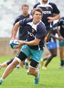 Riaan Smit at Cheetahs training