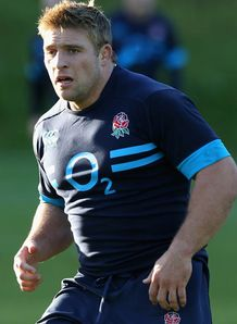 Tom Youngs England training 2013