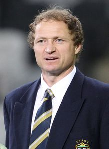 Tony Brown Otago coach
