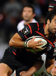 Toulouse winger Yoann Huget Top 14 v