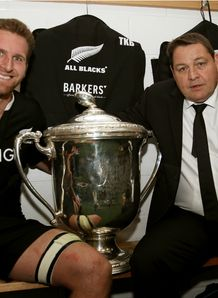 KIERAN READ AND STEVE HANSEN BLEDISLOE CUP