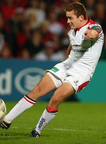 PADDY JACKSON ULSTER V LEICESTER TIGERS HEINEKEN CUP