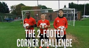 Two-Footed Corner Challenge - Leyton Orient