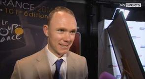 Video: Froome excited by new route