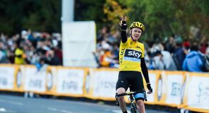 Chris Froome enjoyed a triumphant trip to Japan for the Saitama Criterium
