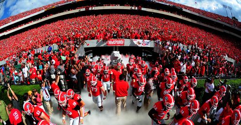 Sanford Stadium is a sight to behold, says Alex