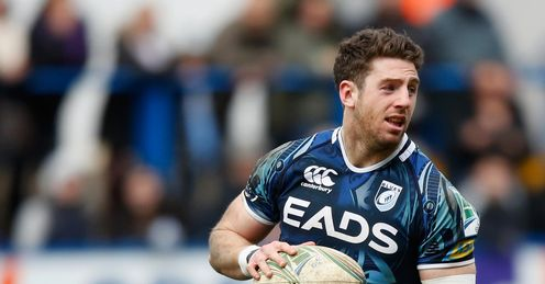 Alex Cuthbert Cardiff Blues