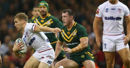 Australia v England Sam Tomkins