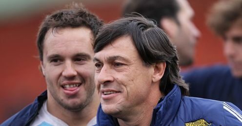 Daniel Hourcade Argentina rugby union coach