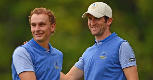 Luiten and Bourdy: Europe's dynamic duo in the Seve Trophy