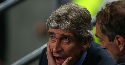 Pellegrini: has overseen an impressive derby win and disappointing away days