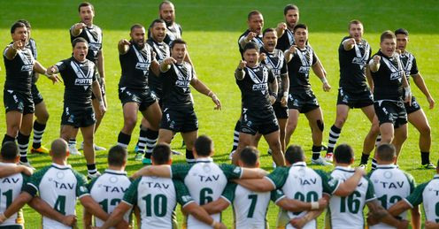New Zealand v Cook Islands World Cup warm-up