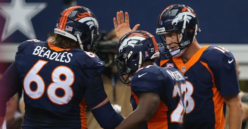 Peyton Manning and the Broncos face the Chargers