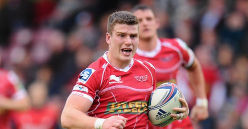 Scott Williams: in fine form for Scarlets