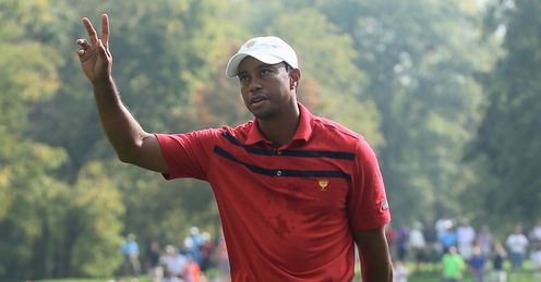 Tiger Woods: Pleasantly surprised