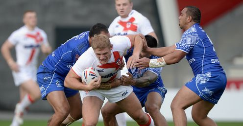 Tom Burgess England Knights v Samoa