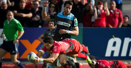 Toulon center Maxime Mermoz