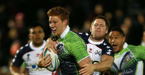 USA v Cook Islands Dylan Napa
