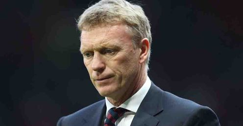 Moyes: Saw his side concede a last-gasp equaliser against Southampton