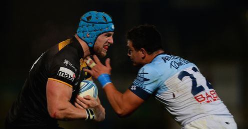 AMLIN CHALLENGE CUP JAMES HASKELL LONDON WASPS BAYONNE