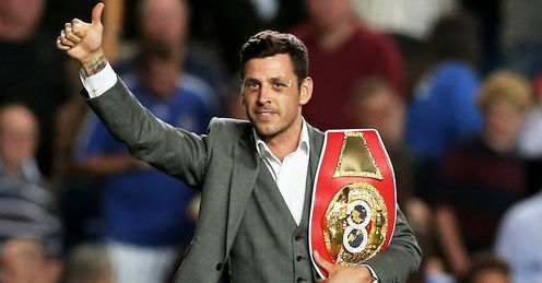 Darren Barker: Will travel to Germany to make his first defence of the IBF belt