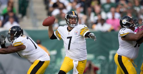 Ben Roethlisberger: Has led an improving team in recent weeks