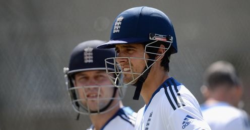 Trott and Cook: need to play positively again, says Bumble