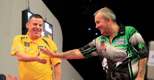 Taylor: thrashed Chisnall in the World Grand Prix final in Dublin