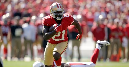 Frank Gore: San Francisco running back has 547 rushing yards in seven games