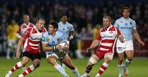 James Hook Perpignan Gloucester Kingsholm Heineken Cup Rugby Union