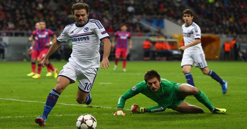 Juan Mata: A lively display helped Chelsea in Romania