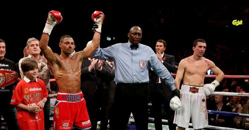 Kell Brook: Back on track says Johnny
