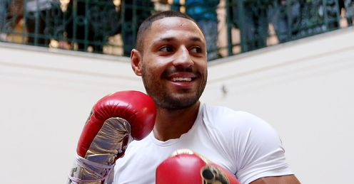 Kell Brook: Has a tough opponent to overcome in Senchenko