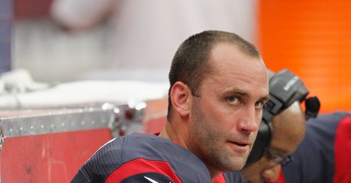 Matt Schaub: Had to endure the cheers of his own fans after being injured
