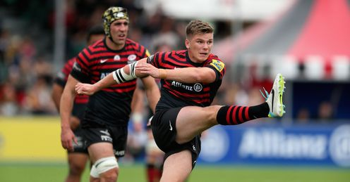 Owen Farrell will hope to lead Saracens to victory over Toulouse